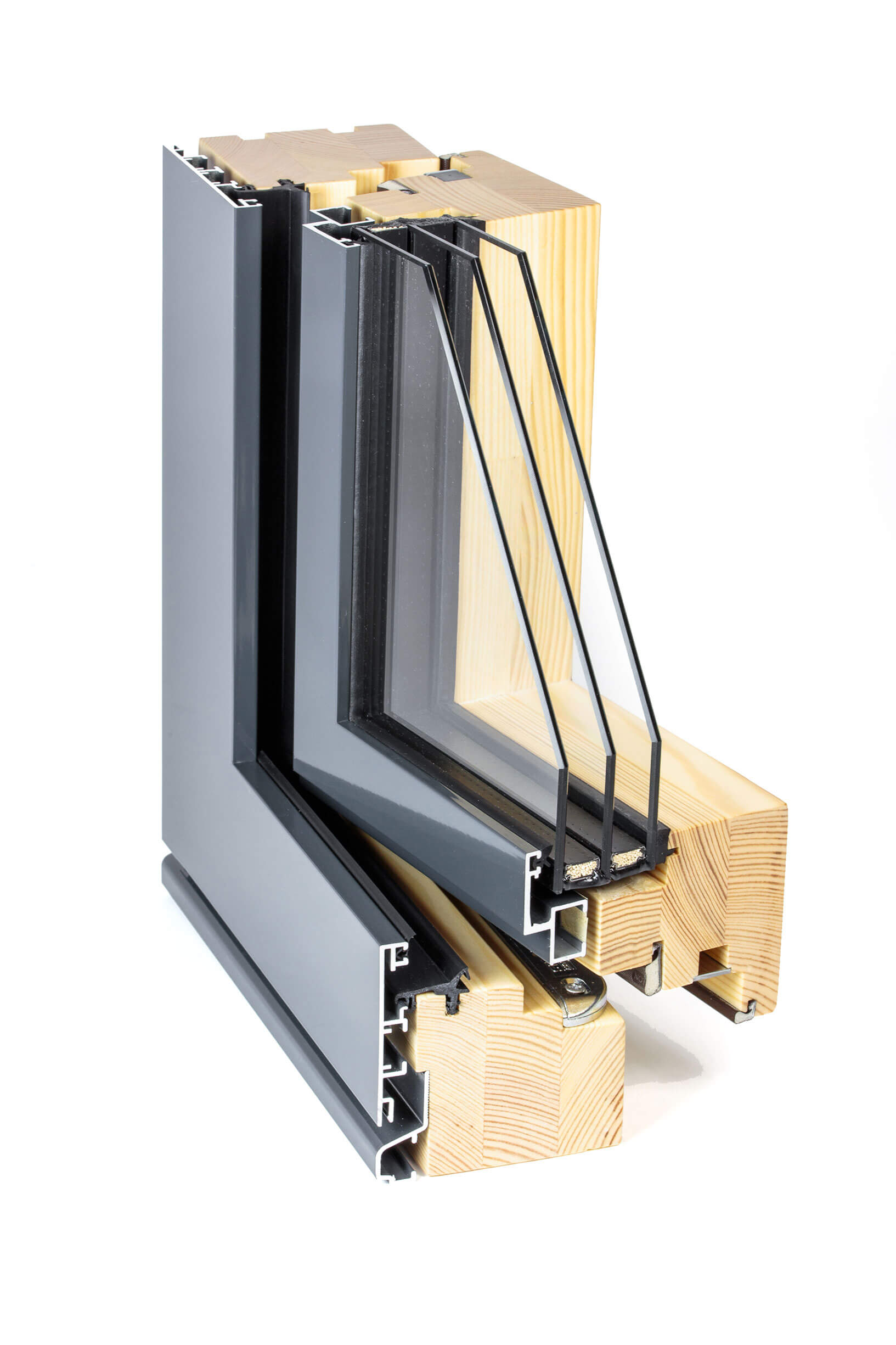 C series flush composite window enlightened windows for Composite windows
