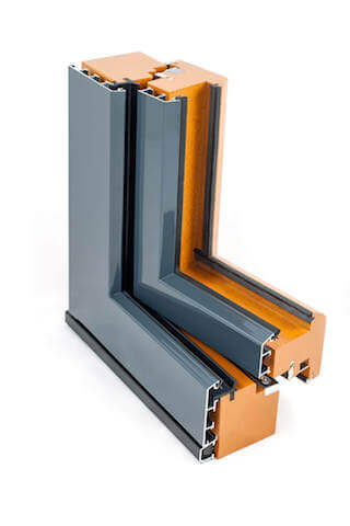 traditional composite window