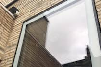 Top Hung All Glass Window London