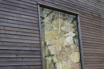 Double Flush All Glass Timber Window