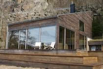 Full Length Glazing on a Timber House