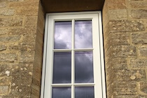 Alu Clad Window with Glazing Bars
