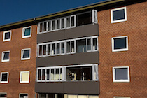 Bifold Windows in Flats