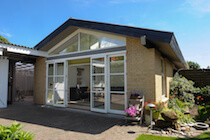 Bifold Door with Horizontal Glazing Bars