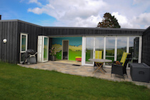 Double 5 Leaf Bifold Doors