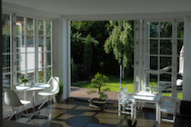 Traditional White Bifold Doors