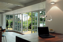 Traditional Bifold Door with Glazing Bars