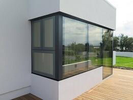 Glass Framed window