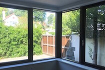 Brown Composite Windows