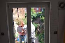 White German Tilt Turn Windows Interior