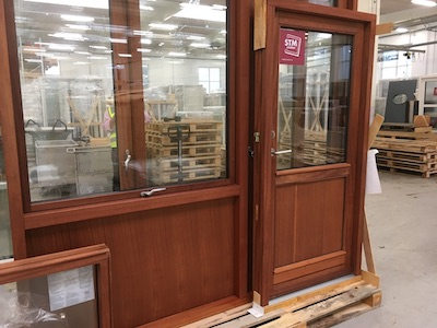 Mahogany Windows and Doors