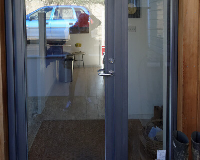Rationel Entrance Door with Sidelight