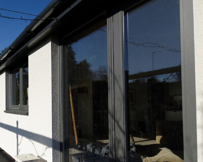 Rationel Granite Finish Composite Windows