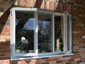 Aluminium Clad Side Hung Windows