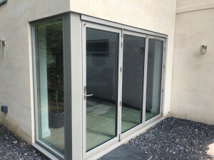 Bifold Door with Alu Clad Corner Post