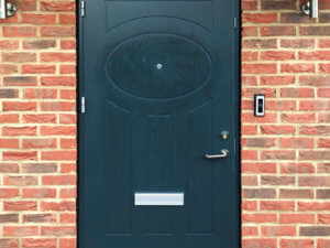 Bespoke Alu timber front door