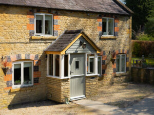 Alu Timber Replacement windows in the Cotswolds