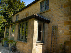 Cotswold Stone Home Window Renovation