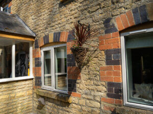 New Windows with Existing Stone Cills