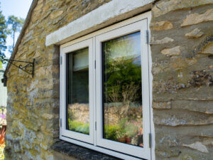 Replacement Window in Old Stone