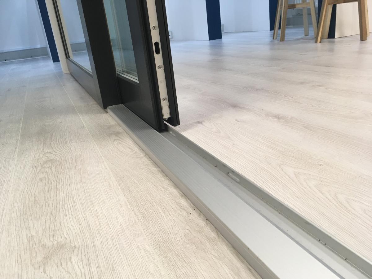 Rationel Sliding Door Showroom Enlightened Windows